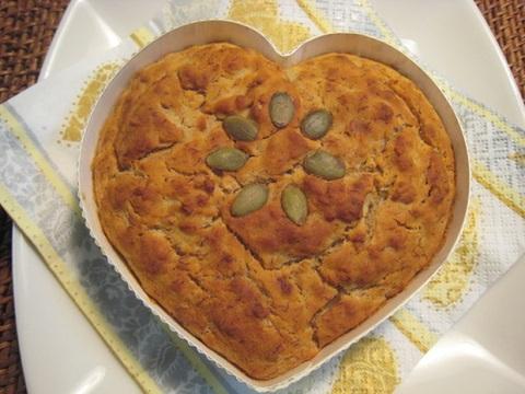 バナナケーキ(アレルフリー★骨型クッキー付)