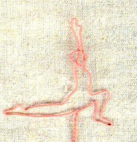yoga wire 【アンジャネーヤアーサナ】