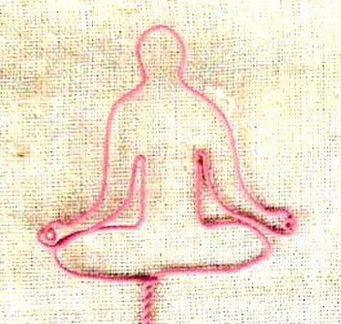 yoga wire 【蓮華座】