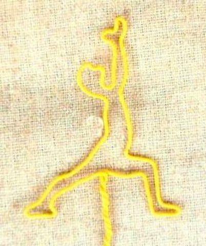 yoga wire 【戦士のポーズ1】