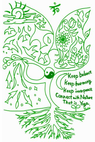post card   【Connect with Nature】