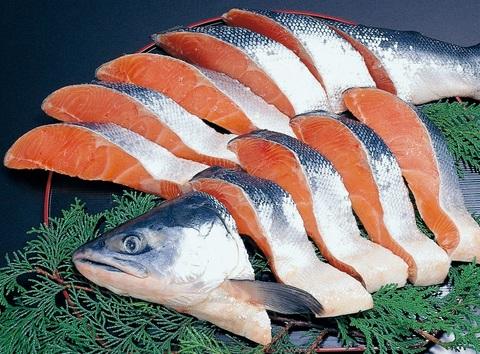 北洋産紅鮭 半身 切身