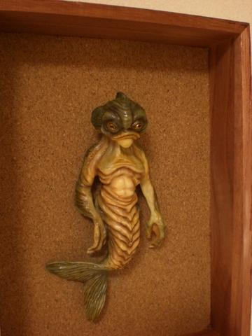 魚人 (標本風)