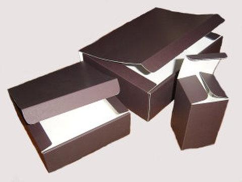 ギフト箱「お好みBOX」NO1(ブラウン) 10枚パック