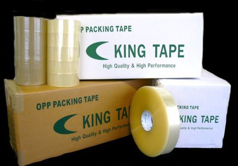 輸入中量OPPテープ キングテープTS4865 50巻パック