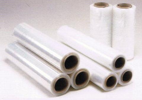 ストレッチフィルム17μ(500mm×300m)3インチ紙管巻 6本パック