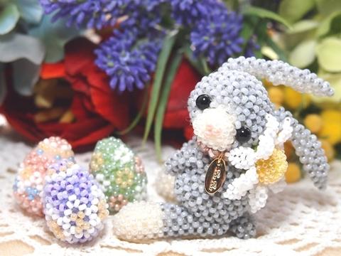 【あみぐるみのうさちゃん*Happy Easter! 】