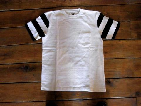 LEFTYBOND L.B.O.G Sleeve Stripe Pocket Tee
