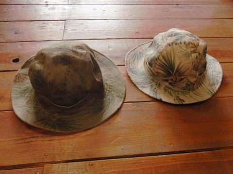 2 Face Leaf Hat