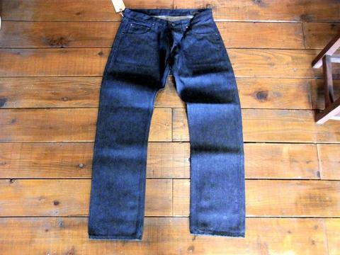 Frisco Narrow Black Denim