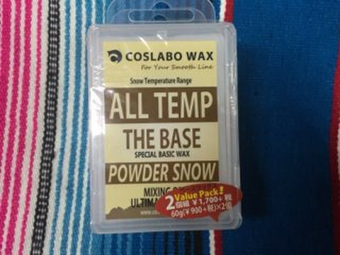 【COSLABO WAX】THE BASE