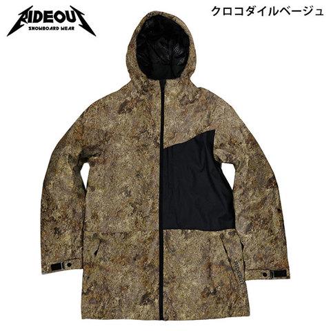 【30%OFF】RIDE OUT ライドアウト Dragon Jacket(RSW5005) -ドラゴンJK