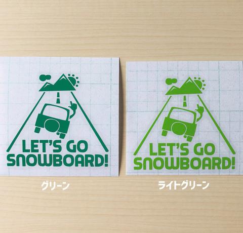 グリーン系ステッカーセット(車ロゴ2枚)
