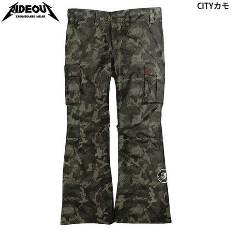 【30%OFF】RIDE OUT ライドアウト Wizard Pants(RSW9509) -ウィザードパンツ カモフラ柄