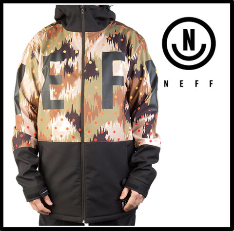 55%OFF【NEFF】DAILY SOFTSHELL CAMO メンズ Lサイズ