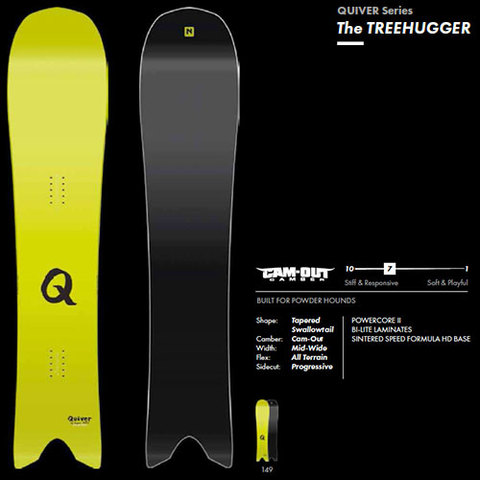 【17-18】NITROナイトロ  The Quiver Treehugger149
