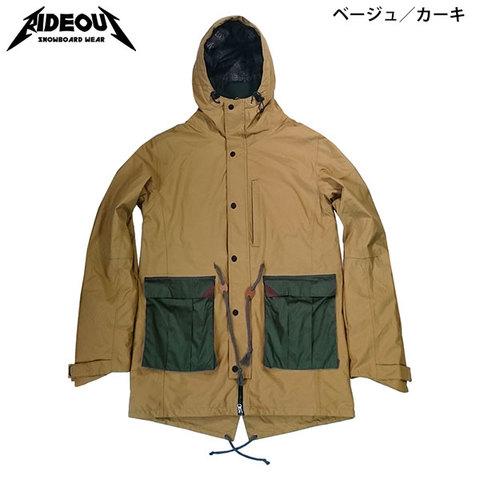 【30%OFF】RIDE OUT ライドアウト Brave Jacket(RSW5008) -ブレイブJK