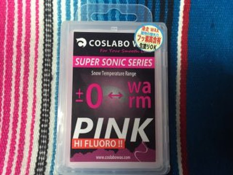 【COSLABO WAX】SUPER SONIC PINK