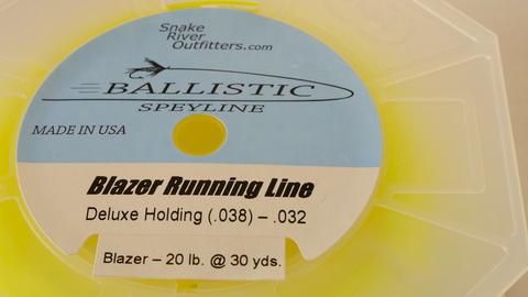 BALLISTIC Blazer Running line