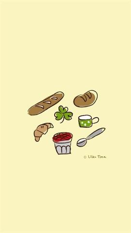 壁紙 パン