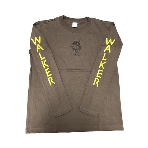 ウォーカーウォーカー WALKERWALKER. ロングスリーブTシャツ チャコール