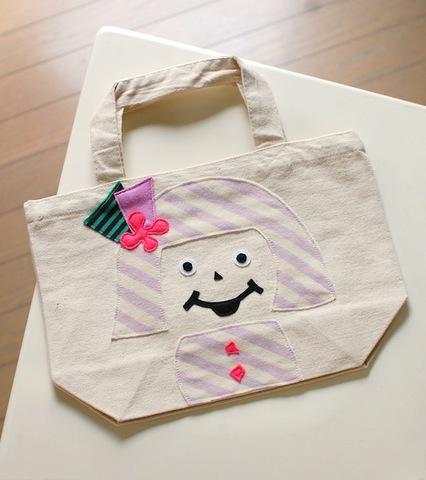 M&J shima-shima-shima chan bag