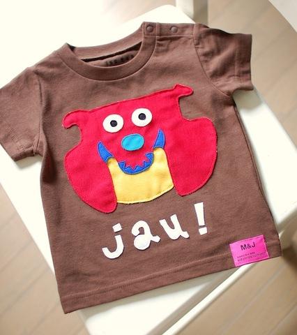 M&J inu wan Tシャツ