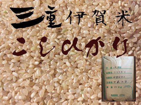 自然栽培伊賀米 秤売