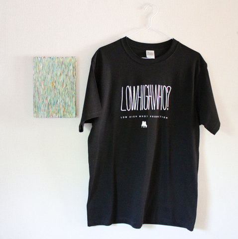 LHW? Tシャツ(黒)