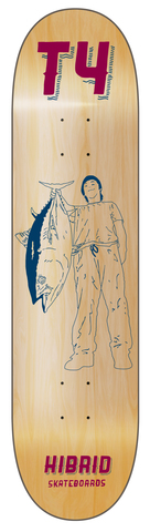 "HIBRIDskateboards ""T4"" Taihou Tokura"