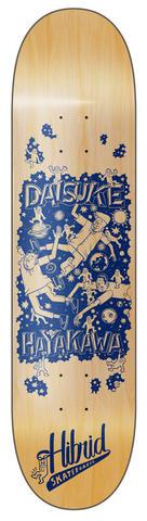 """HIBRIDskateboards """"ESOWBENICOTOY""""Daisuke"""