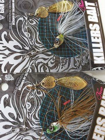 ガンクラフフト キラーズベイトType-1 1/2oz ゴールドブレード&シルバーブレード 新色追加!
