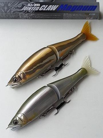 ガンクラフト ジョインテッドクローマグナム230 Type-S 魚矢オリジナルカラー