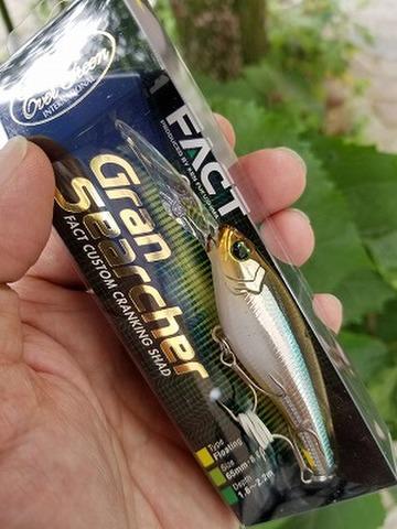 エバーグリーン グランサーシャー 福島健理想のクランキングシャッド!