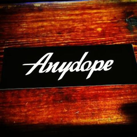 Anydope ロゴステッカー