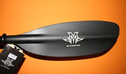 マーシャス カーボンパドル 2pc マットブラック
