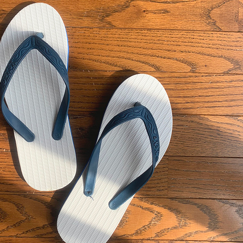 """YeYe"" flip-flops from Small Island"
