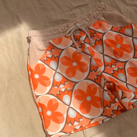 """70's vintage fabric CHEKA PANTS FOR MEN """"32inch"""""""