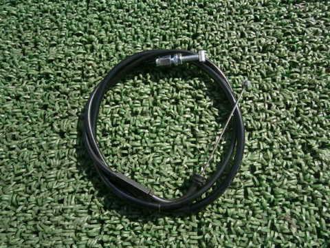 GN125H アクセルワイヤー スロットルケーブル 10cmロング