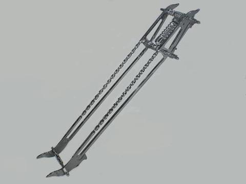ツイスト・18ガーターフォーク  STEED400用