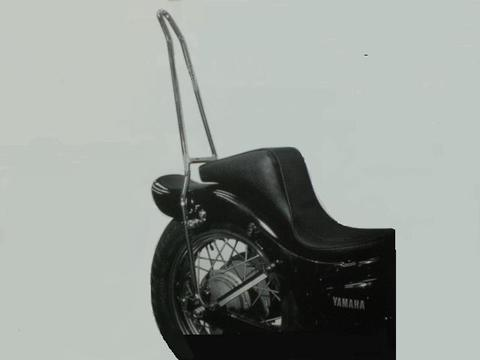 ビラーゴ250用              丸・シーシーバー            (高さ40cm)