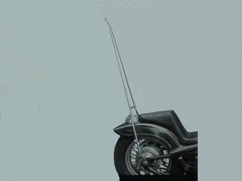 スティード400用                ロング・シーシーバー               (高さ90cm)
