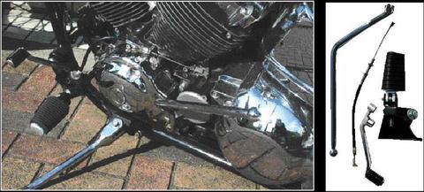 ドラッグスター400用 ジョッキーシフト・キット