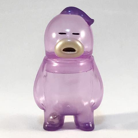 アレの見守りソフビ人形【Thailand Clear Purple】