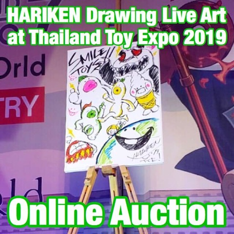 Live Drawing Art / Smile Toys (at TTE 2019)