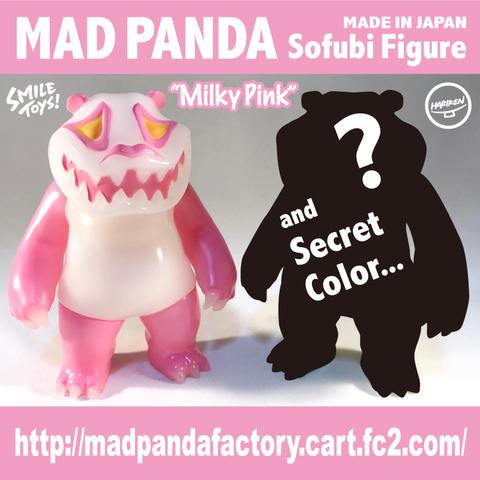 MAD PANDAソフビフィギュア【Milky Pink】