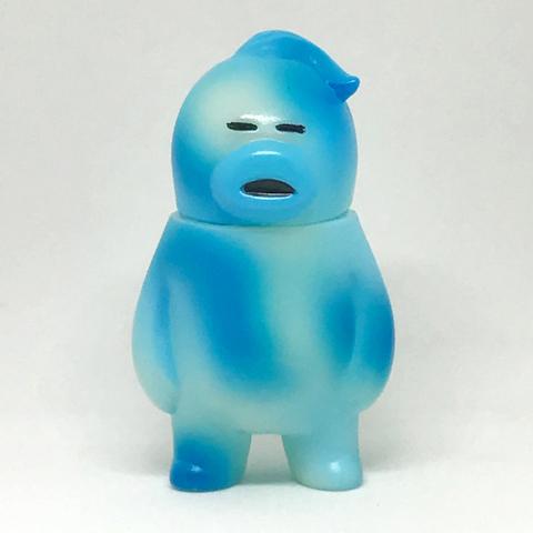 """【シンガポール限定】アレの見守りソフビ人形 """"HORNEST CAMO -BLUE-"""" 蓄光GID"""