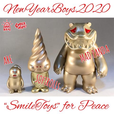 【Limited】新年ゴールド2020/アレ、ソフトロール、マッドパンダ