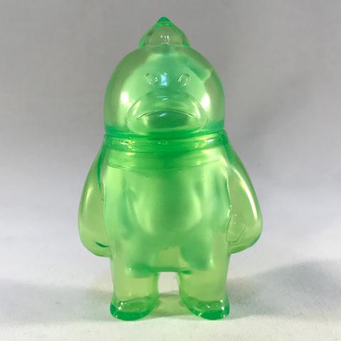 アレ in ソレの見守りソフビ人形【Clear Green】