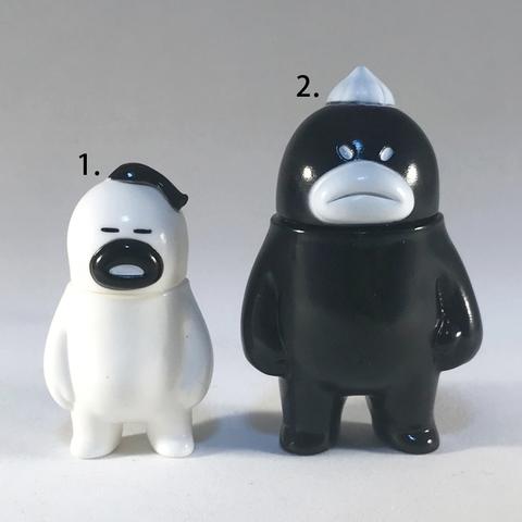 アレ、ソレの見守りソフビ人形【MONOCHROs】